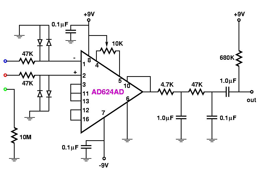 Ecg electronic circuit description ccuart Gallery