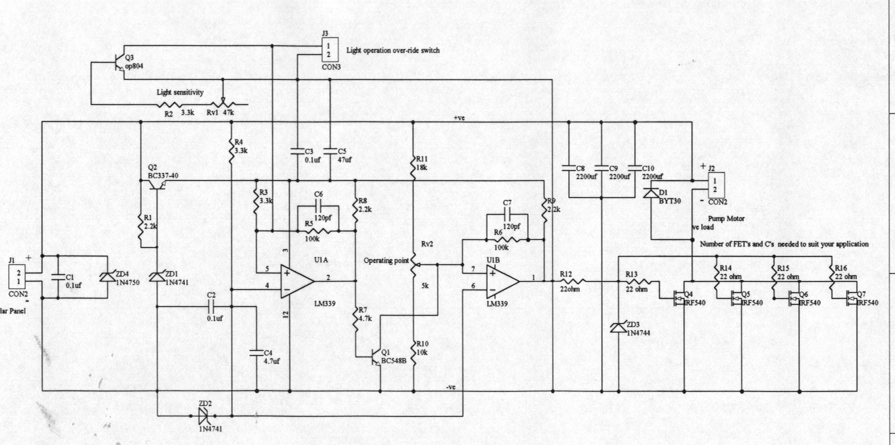 pump controller or lcb