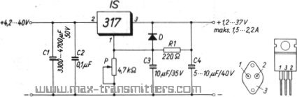 Lm T on 12 volt voltage regulator 7812